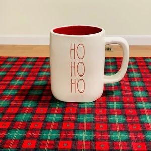 Rae Dunn HO HO HO mug